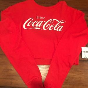 ❌BRAND NEW WITH TAGS❌ Coca Cola long sleeve tee